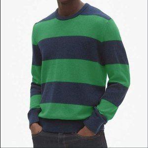 🏅HostPick💫NWT Gap Woolblend Rugby Stripe Sweater